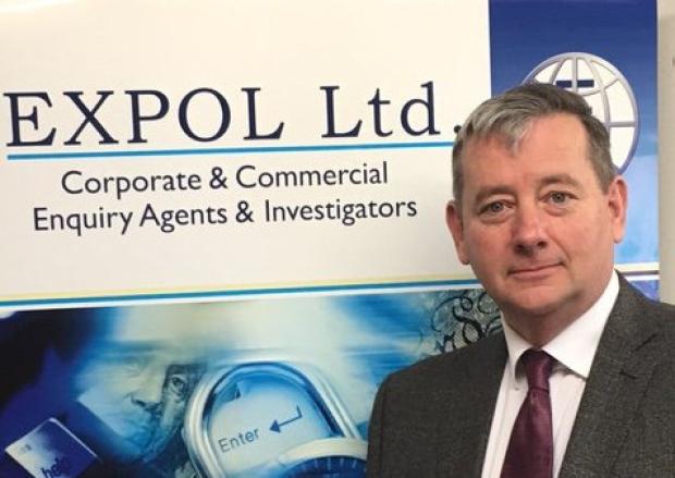 Rob Kinrade at International Shipping Course