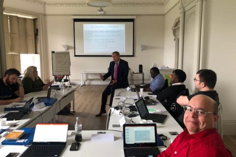 Rob Kinrade, invited to speak once again at EMCS International Shipping Course